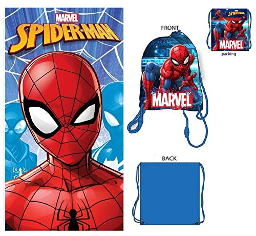 Spiderman badetuch - Spiderman Strandtasche Marvel