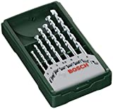 Bosch Home and Garden 2607019581 Bosch Mini X-line - Set de 7 brocas para piedra (Ø...
