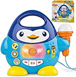 Product Image of the Penguin Karaoke Buddy - Toy with Microphone, Music Player with Preset Melodies...