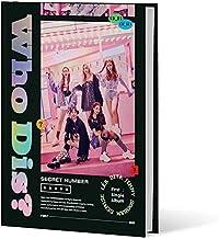 SECRET NUMBER [WHO DIS?] Single Album CD+POSTER+Libro de fotos+2 Card+Sticker+Slogan SEALED+TRACKING CODE K-POP SEALED