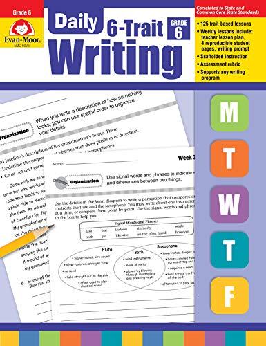 Evan-Moor Daily 6-Trait Writing, Grade 6