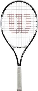 Wilson Raqueta de Tenis Unisex Roger Federer Negro/Rojo 23