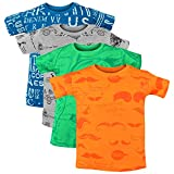 Luke and Lilly Boy's Cotton Half Sleeve Round Neck Printed T-Shirt