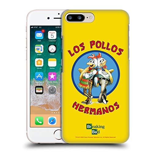 Head Case Designs Licenza Ufficiale Breaking Bad Los Pollos Hermanos Grafiche Cover Dura per Parte Posteriore Compatibile con Apple iPhone 7 Plus/iPhone 8 Plus