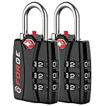 Forge TSA Locks 2 Pack - Open Alert Indicator