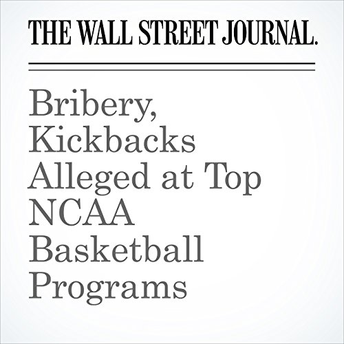 Bribery, Kickbacks Alleged at Top NCAA Basketball Programs copertina