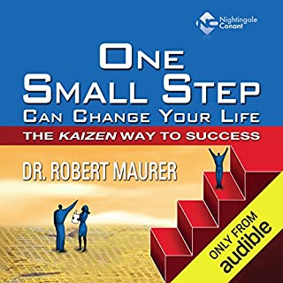 One Small Step Can Change Your Life     The Kaizen Way to Success              Written by:                                                                                                                                 Dr. Robert Maurer                               Narrated by:                                                                                                                                 Robert Maurer                      Length: 7 hrs and 17 mins     9 ratings     Overall 4.0