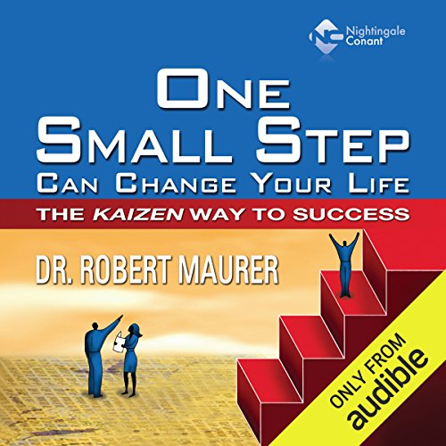 One Small Step Can Change Your Life     The Kaizen Way to Success              Written by:                                                                                                                                 Dr. Robert Maurer                               Narrated by:                                                                                                                                 Robert Maurer                      Length: 7 hrs and 17 mins     8 ratings     Overall 4.0