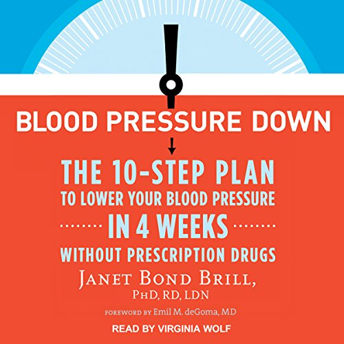 Blood Pressure Down audiobook cover art