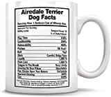 N\A Airedale Terrier Dog Facts Taza Airedale Terrier Airedale Terrier papá Airedale Terrier
