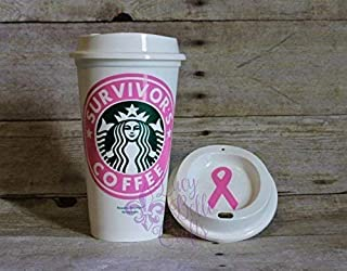 Personalized Survivor's Coffee Reusable Plastic-16 Ounce Travel Mug