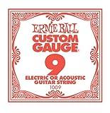 Ernie Ball Plain Steel, Single Strings, .009 - Pack of 1