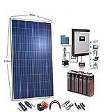 Kit Solar 24v 2000w/10000w día Batería 6OPzS 900Ah Inversor Multifunción 5kva Regulador MPPT 80A