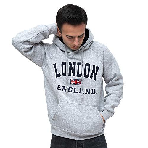 16sixty Men/'s Souvenir London England Soft Touch Sweatshirt Hoody 1660