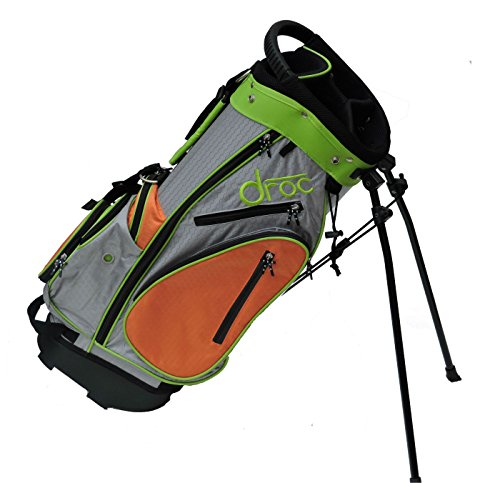 Great Deal! DROC - Noa Boys Golf Bag Ages 6-10 (27 Tall) (Orange_Silver)