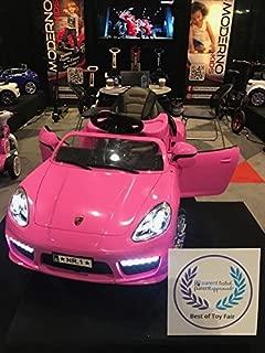 Moderno Kids Ride on Toy Car Power Electric 12v, 2 Motors , 2018 International Show Winner Kiddie Roadster , Remote Control ,R/C
