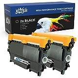RINKLEE TN2010 TN2220 Cartucho de Toner Compatible para Brother DCP-7055 7060D 7065DN HL-2130 2132 HL-2135W HL-2240 HL-2250DN HL-2270DW MFC-7360N FAX-2840 | Alta Capacidad 2600 Páginas | Negro, 2-Pack