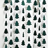 Small Dark Green Christmas Tree Garland for Xmas Home Party Decoration Hanging Streamer Backdrop Xmas Tree Garland Decor for Living Room Mantle Window Doorway Shop Home Classroom