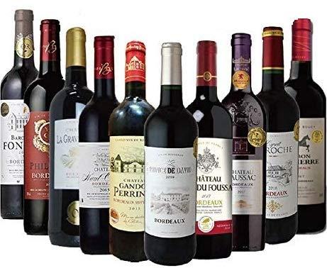 全て金賞ボルドー 厳選10本セット 金賞ワイン ワインセット 赤ワインセット 赤ワイン セット ギフト