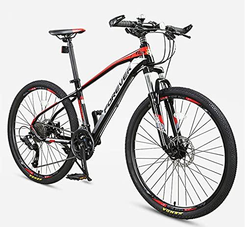 Mountain Bike per Adulti, 27.5 Pollici 27-velocità Mountain Bike Uomo Femminile Vai a Lavoro Guida Light Fuori-Road Adult Student New Bicycle B
