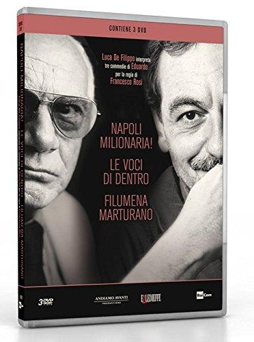 De Filippo (Box 3 Dvd Napoli Milionaria!,Le Voci Di Dentro, Filumena Marturano)