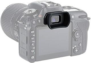 PROfezzion Visor Ocular Silicona Suave de Largo y Extendido para Nikon D7000 Series D5400 D5200 D5100 D5000 D3000 Series D750 D610 D600 Cámara Reemplazo Nikon DK-20 DK-21 DK-23 DK-24 DK-25 DK28