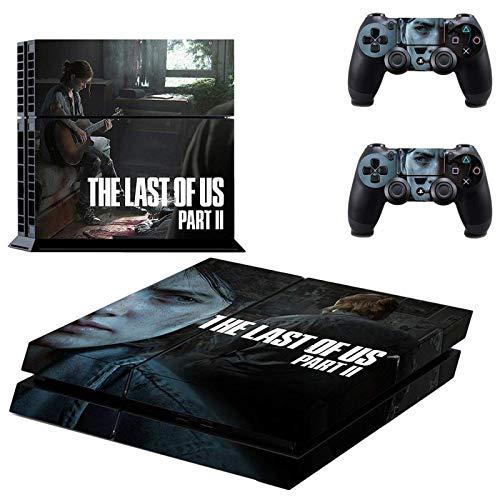 The Last of Us Part 2 - Juego completo de adhesivos protectores de consola, regalos para amigos y familiares (O)