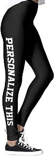 DIYCCY - Pantalones de yoga personalizados para mujer, cintura alta