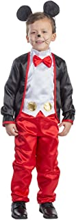 Kid's Charming Mr. Mouse Costume By Dress Up America