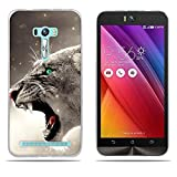 DIKAS für Asus ZenFone Selfie ZD551KL Hülle, Transparent Ultra Slim Tasche Etui Weich Flexibel Crystal Clear Premium TPU Silikon Bumper Schutzhülle für Asus ZenFone Selfie ZD551KL- Pic: 11