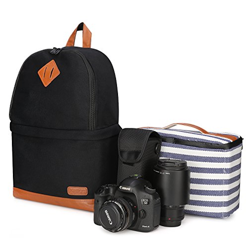 Kattee Camera Backpack Laptop Camera Bag DSLR/SLR/14' Photography Bag...