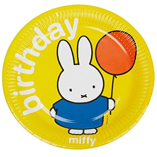 Neviti Miffy - Platos de papel (8 unidades)