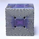 Ysss Puzzle Regalo Juguete Desarrollo Intelectual Impresión UV Personalizado Ilusión Personalizada Cubo de Tercer Orden Efecto de paralaje