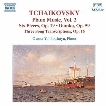 TCHAIKOVSKY: Piano Music, Vol.  2