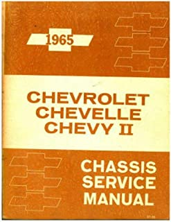 1965 chevrolet impala specs