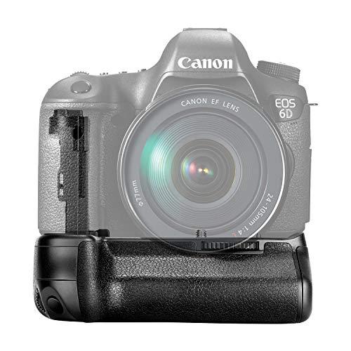 Vertikaler Batteriehalter für Canon BG-E13 BGE13 EOS 6D DSLR Kamera als LP-E6