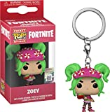 Funko Fortnite Zoey Llavero, Multicolor (36973)