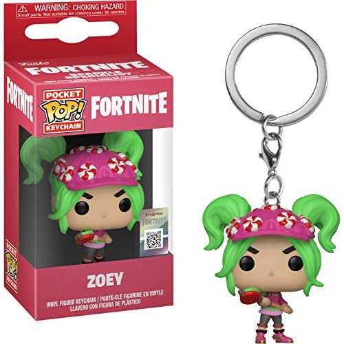 FUNKO POP! KEYCHAIN: Fortnite S2 - Zoey