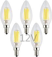 5 watt 12 volt candelabra led light bulb