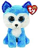 Ty UK Ltd 36310 Prince Husky - Beanie Boos Plush Toy, Multicoloured, 15cm