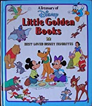 A Treasury of Disney Little Golden Books: 22 Best Loved Disney Favorites