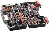 AGT Werkzeugkästen: Werkzeugset im Koffer WZK-391, 39-teilig (Werkzeuge)