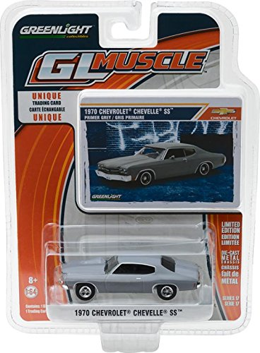 Greenlight 13170-C 1:64 Greenlight Muscle Series 17 1970 Chevy Chevelle SS Primer Grey