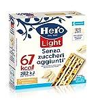 Hero Light Barrette ai Cereali Cioccolato Bianco senza Zuccheri Aggiunti - 120 gr...