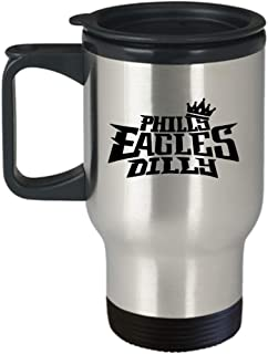 Philly Eagles Dilly Travel Mug