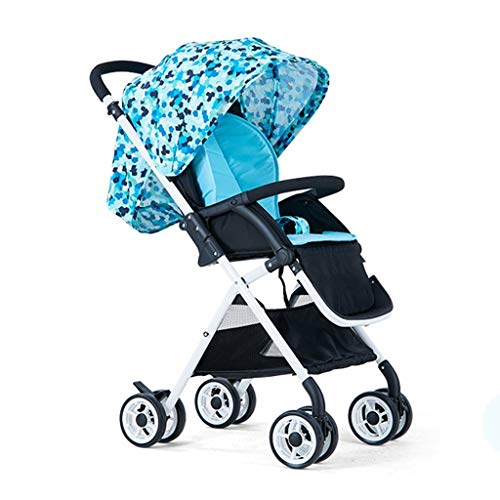 %45 OFF! GFF Can Sit Can Lie The Light Fold The Baby Cart High Landscape Four - Wheel Avoid Shock Ba...