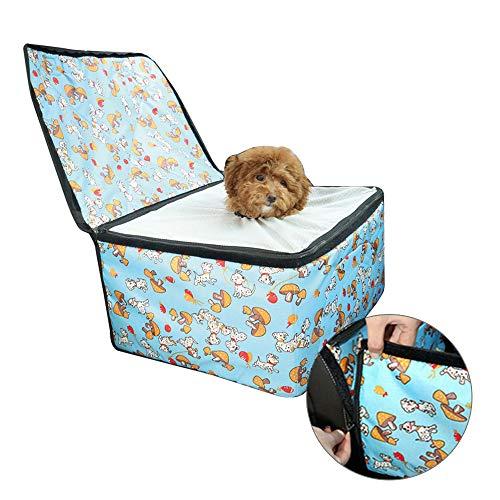 Pet Carrier para Gatos pequeños de Perros, cómoda Silla de Coche para Mascotas Plegable portátil en maletín de Transporte al Aire Libre