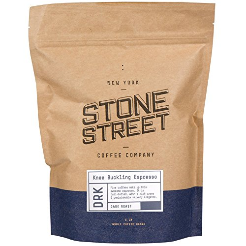 Stone Street Coffee Knee Buckling Espresso High Caffeine Whole Bean Coffee
