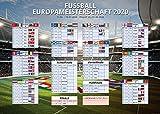Fussball EM Planer 2020 Europa im XXL Riesen-Poster Format