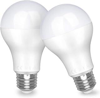 Awenia Bombilla LED Esférica E27 20W (Equivalente a 150W), Luz LED 4000K 2452 Lúmenes Blanco Neutro, Pack de 2